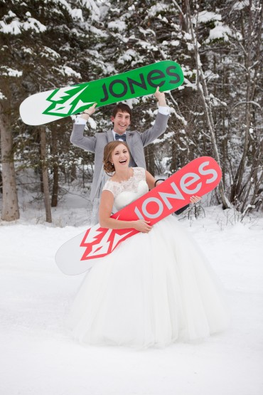 Jones Snowboards Getting Married in Montana