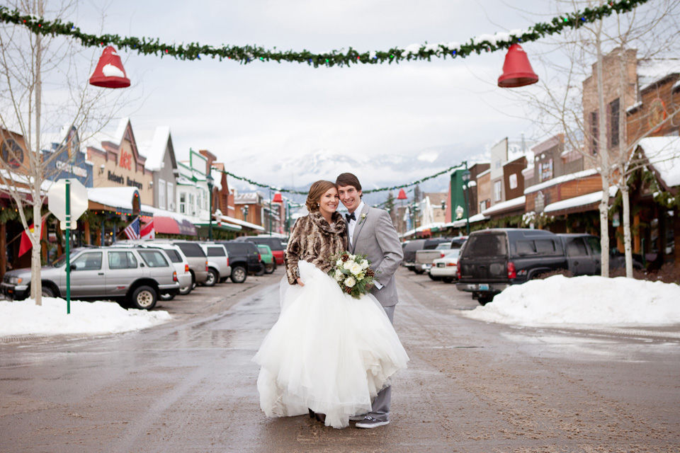 Downtown Whitefish MT Wedding Photography