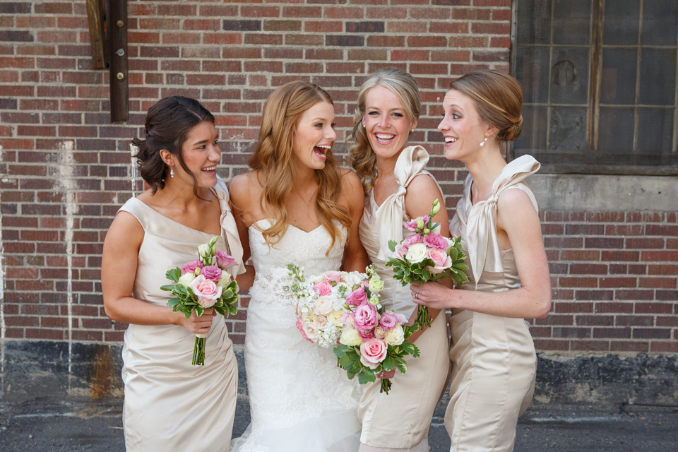 Beautiful Montana Brides Maids