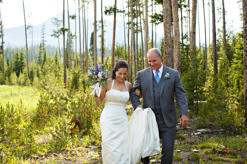 Sharon and Mike married in Montana