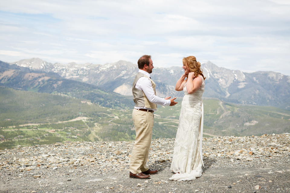 Big Sky Resort Destination Wedding Photographers