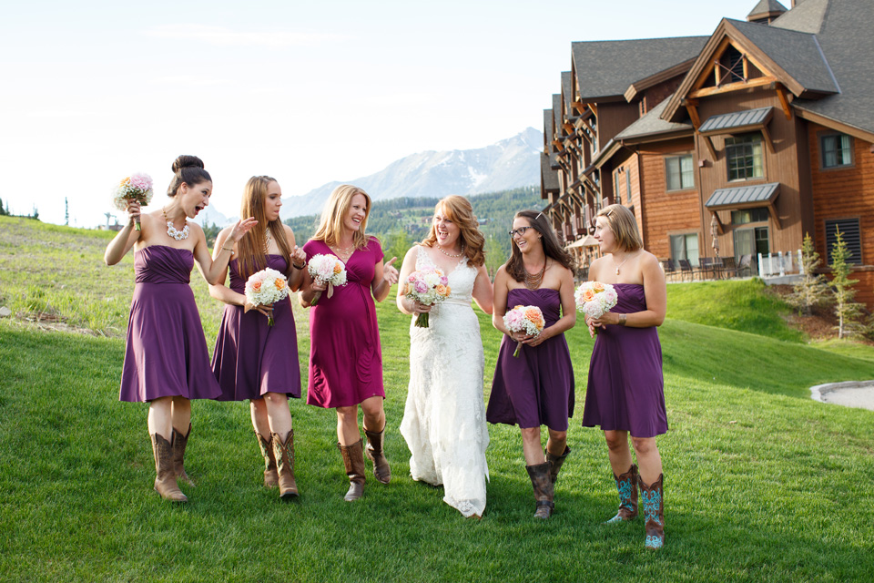 Big Sky Resort Wedding Photographers
