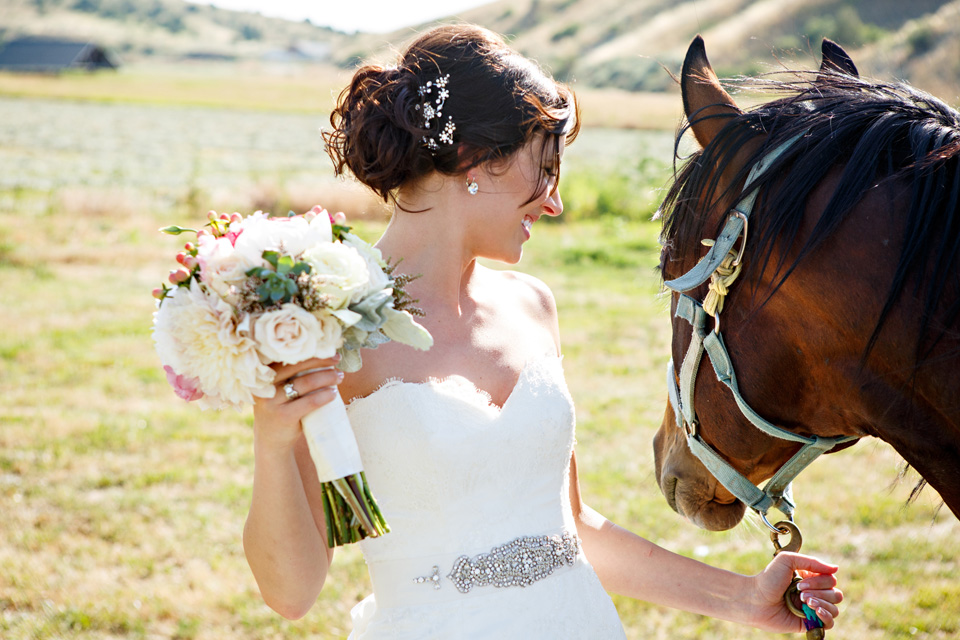 Montana Bride photographed by Brooke Peterson Photography in Billings Montana
