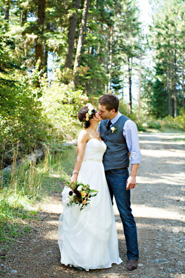 Best outdoor weddings in Idaho