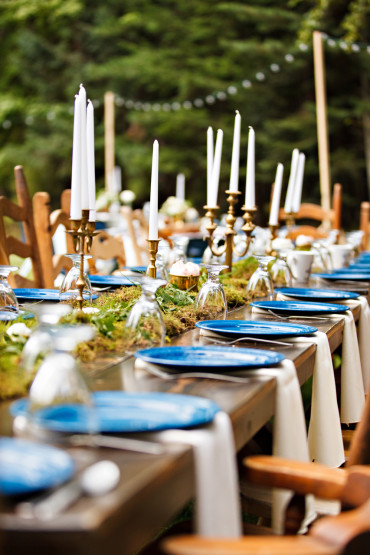 Best outdoor wedding head table decor