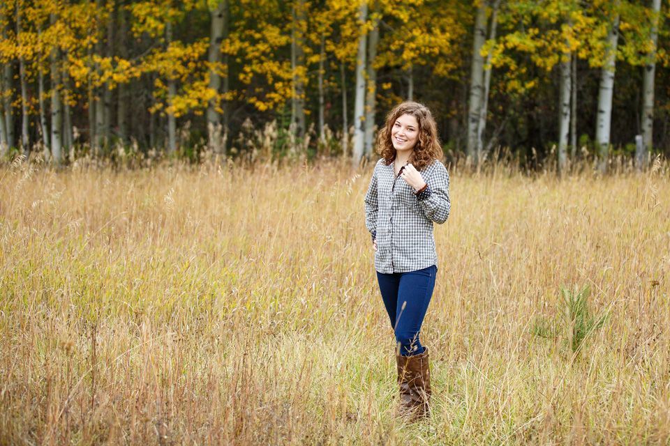 Bozeman Senior Portrait Photographer
