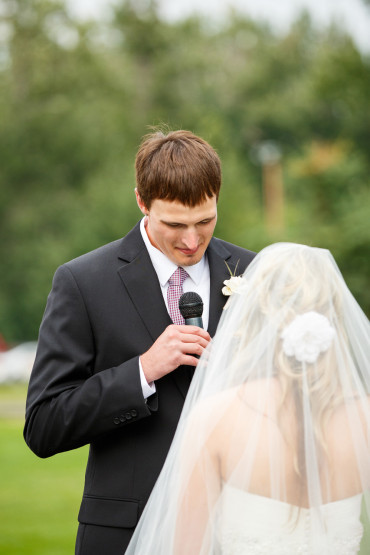 Outdoor Montana Wedding Ceremony