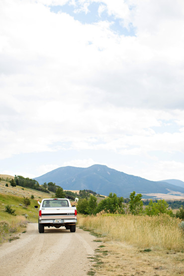 Montana wedding getaway pictures