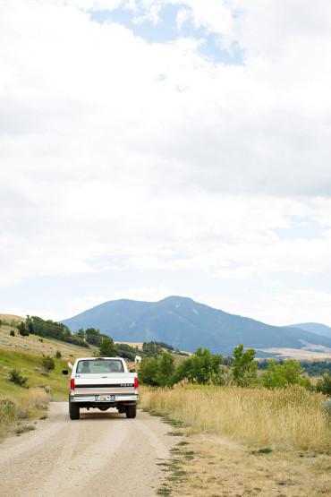 Montana wedding getaway pictures