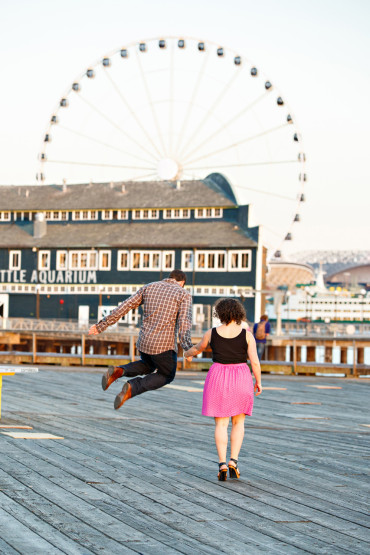Downtown Seattle Engagement Session