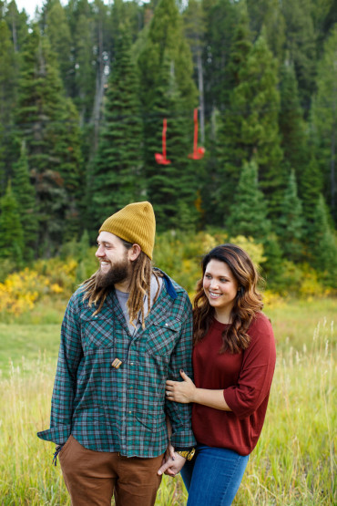 Bridger Bowl Engagement Session