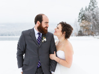 Winter Wedding in Montana – Alison & Scott 1.16.16