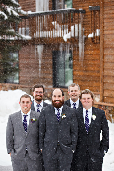 Winter Wedding in Montana