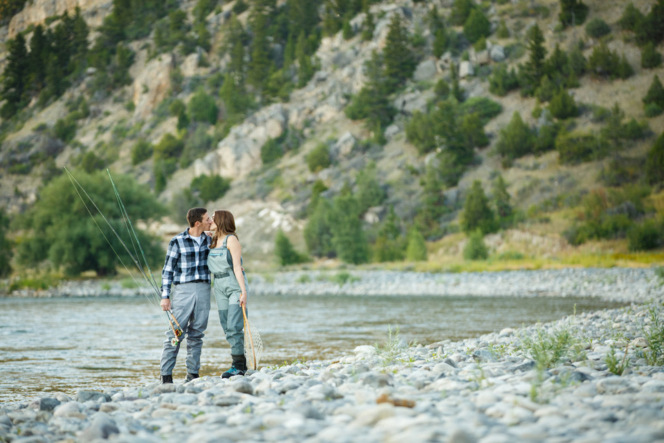 Livingston MT Engagement Session