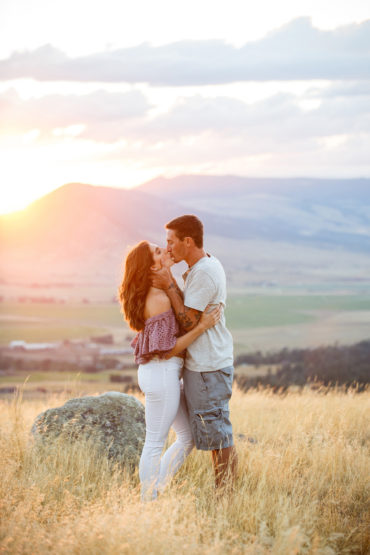 Livingston Montana Engagement Session